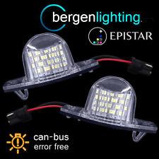 FOR HONDA CRV CR-V STREAM LOGO LED NUMBER PLATE LIGHT LAMP PAIR