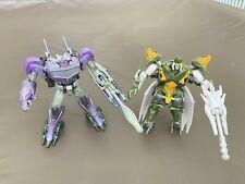 Transformers PRIME Beast Hunters Commander Class Lot! **HARDSHELL & SHOCKWAVE**