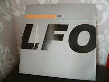 Low FREQUENCIES House Techno Mix Vinyl LP LFO RTD 126-1228-1 1991