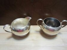 Gorham Sterling Silver Sugar Bowl & Creamer #392 & 393 Non-Weighted 215 Grams
