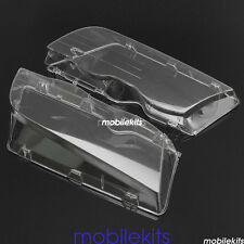For 2001-2006 BMW E46 Left & Right Headlight Lens Polycarbonate Cover Set NEW