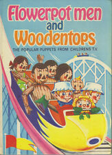 FLOWERPOT MEN AND WOODENTOPS ANNUAL 1971 - BBC TV SERIES WATCH WITH MOTHER - VG