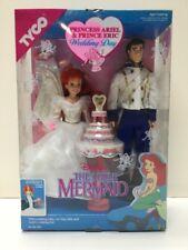 TYCO Disney Princess Ariel & Prince Eric Wedding Day w/ Wedding Accessories