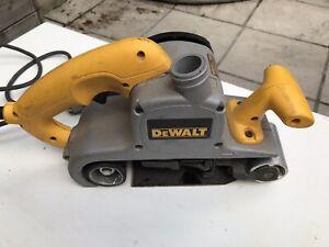 DEWALT DWP 352VS BELT SANDER