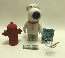 RARE 2004 Mezco Family Guy Brian Griffin (4.5 Inches Tall) Figure