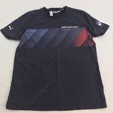 Puma BMW Motorsport T-Shirt Sz Medium •stain