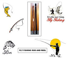 White River Fly Fishing Rod, Conservationist Reel, Rod Sheath & Case. Brand New.
