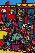 MARCO SOHO Signed Limited Edition (375) Colorful Dynamic Pop Art Print