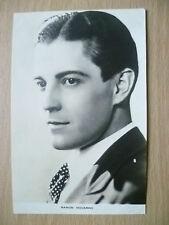 Film Actors Postcard- RAMON NOVARRO - ''Film Weekly No.2, London''