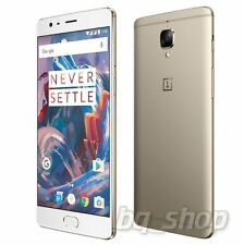 "OnePlus 3 Three Gold 64GB 6GB Ram 5.5"" 16MP Android Phone By Fedex"