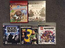 PS3 Playstation 3 Game Bundle