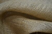 """Hessian Fabric for Craft Bags Sack Making Cloth Upholstery Wedding  45"""""""