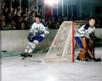 George Armstrong, Johnny Bower Toronto Maple Leafs  8x10 Photo