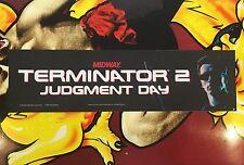 Terminator 2 Arcade Marquee Translight Header Midway Sign Mylar Backlit