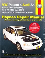 1996-2005 Volkswagen Passat Audi A4 Repair Manual 2000 2001 2002 2003 2004 7039