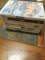 Lot of 7 Nintendo Wii Games - World Champions, PGA, Wii Ski, Fit, Leela, Winter