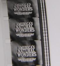 Vintage 16 Mm De Cine Película America's Maravillas Naturales / Bw / Sonido-libre de envío [ 1279 ]