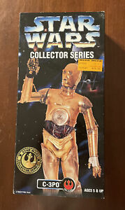 """1997 Star Wars Collector Series C-3PO Kenner 12"""" Action Figure New in Sealed Box"""