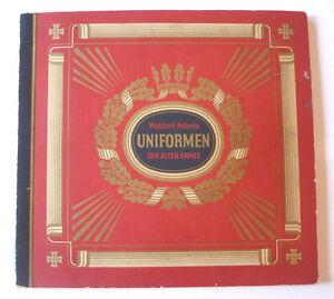 Sammelbilderalbum, Uniformen der alten Armee, Waldorf-Astoria