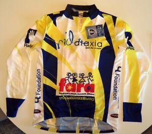 Primal Wear Long Sleeve Cycling Jersey FARA Friedreich's Ataxia XL