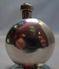 Vintage Perfume Flask/Snuff Bottle Sterling Silver 13g Amethyst Applicator