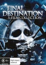 Final Destination Complete 5 films Collection 1, 2, 3, 4 & 5 DVD Set R4