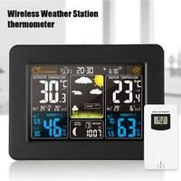 Capteur extérieur d'humidité la température la station météo numérique sans f ST