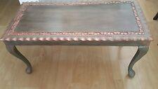 COPERTA SHABBY Chick Tavolino in oro rosa dettagli intagliati HASD, piedi a sfera