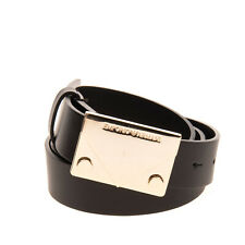 RRP €240 EMPORIO ARMANI Leather Belt Size 90 / 36 Blank Buckle Made in Italy