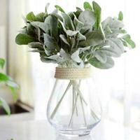 5* Rabbit Ear Plant Artificial Silk Flower Bouquet Fake Leaf Home Wedding Decor