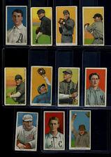 1909-11 T206 Lot of 11 Cards VG Donohue Lake Moeller Herzog McGlynn Hinchman
