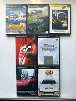 Lot 7 PlayStasion2 Car racing set from JAPAN USED GAME PS2 NTSC-J (Japan)