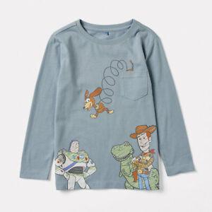 Disney Pixar Toy Story Boys Kids long sleeve T Shirt New w/Tags various sizes