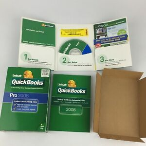Quickbooks 2008 PRO For Windows Full Retail Version Complete with Product Key