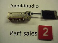 Technics SA-202 Receiver Speaker Selector Switch. Tested. Parting Entire SA-202.