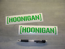 2x stickers decal HOONIGAN Vert 18cm drift race gymkhana Ken Block A84-064