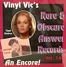 VINYL VIC'S 'Rare & Obscure Answer Records' - Vol# 16 - 26 VA Tracks