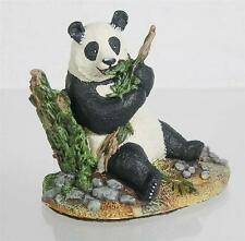 Franklin Mint 1987 Panda Bear Wildlife Preservations Trust Sculpture Nib