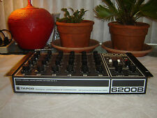 Tapco 6200B, Stereo Recording Reinforcement Mixer, Vintage Rack, As Is