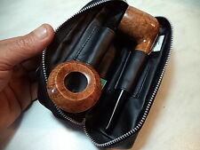 FB BORSA IN PELLE PER PIPA PIPE TABACCO ED ACCESSORI PIPE BAG BT 163 NEW