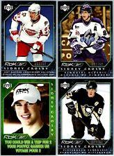 2007-08 UPPER DECK SIDNEY CROSBY SPORT CHECK REEBOK 4 PROMO Hockey Card Set Lot