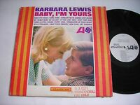 PROMO Barbara Lewis Baby, I'm Yours 1965 Mono LP VG+