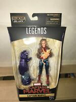 Marvel Legends Captain Marvel Bomber Jacket w Goose Figure Sentry Kree BAF MINTY