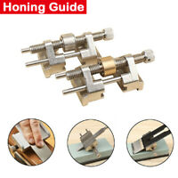 Metal Honing Guide Jig for Sharpening Wood Chisel Plane Iron Planers Blade