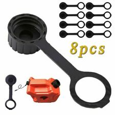 8pcs Gas Can Rear Vent Cap Gasket Leash With O Ring For Gott Rubbermaid Midwest