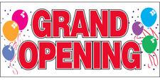 20x48 Inch Grand Opening Vinyl Banner Sign Balloons - rw