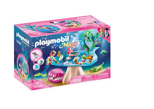 70096 Playmobil Magic Beauty Salon with Jewel Case Mermaid Figure Set inc 50pcs