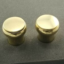"""Price Pfister Vintage Brass Replacement Shower Faucet Knob Handle 2""""  - Gold"""