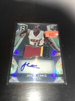 Panini Spectra James Ennis RPA Heat Rockets 76ers Nice Patch