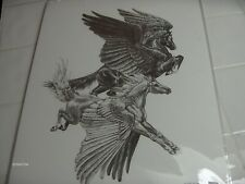 Windstone Editions Art Print Winged Horses Pegasus Rare Hard to find